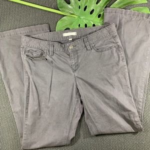 Dark Grey LOFT Jeans Size 10